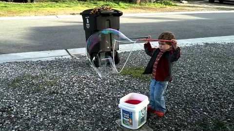 Jakey Makes Big Bubbles