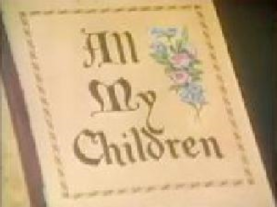 All My Children Opening 1970