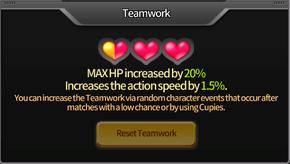 Superior Teamwork Status