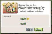 Silver Leisure Trophy