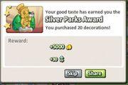 Silver Parks Award