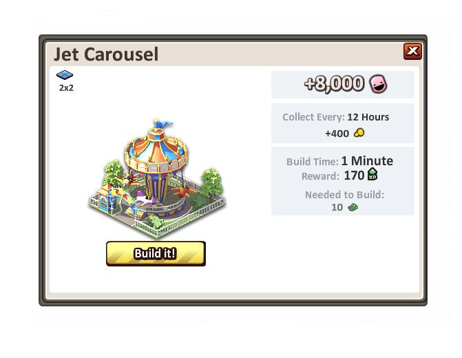 Jetcarousel