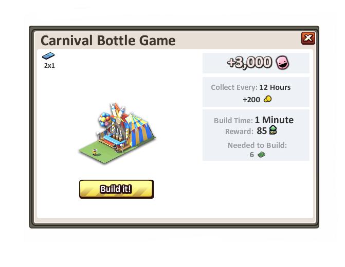 Carnivalbottlegame