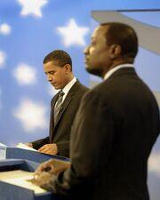 Obama vs keyes