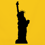 Sun-yellow-statue-of-liberty-accessories design