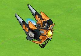 Laser blade drone
