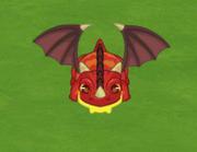 Dragoncito rojo