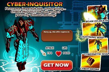 Cd cyberinquisitor popup