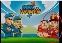 Women vs men r