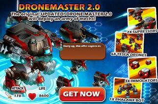 Cd dronemaster2 popup
