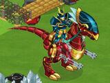 Dino Rider Elf