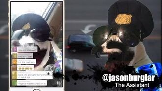 Sock Cop on the road again!