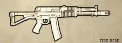 Weapon view aek 971
