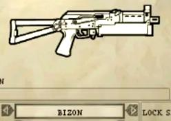 Pp-19 weapon selection
