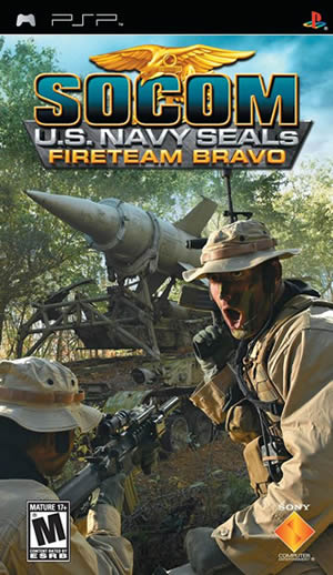 SOCOM FireTeam Bravo PSP North American Front Cover