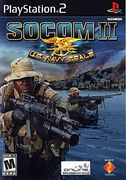 Socom 2 Box Art