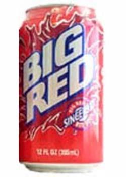 Big Red Cream Soda