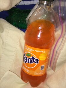 Fanta orange soda