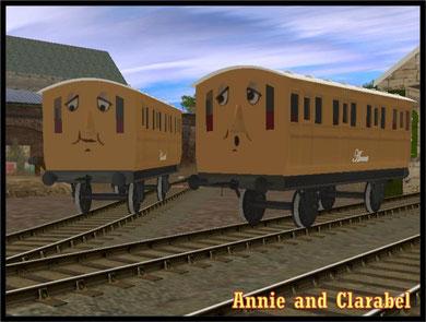 Annie and Clarabel | Sodor Island 3d aka si3d Wiki | FANDOM powered