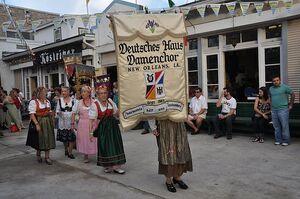 The Deutsches Haus of New Orleans