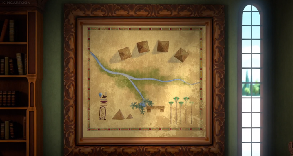 Image The Lost Pyramid Map Png Sofia The First Wiki Fandom