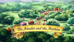 The Amulet and the Anthem titlecard