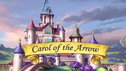 Carol of the Arrow titlecard