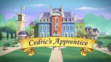 Cedric's Apprentice titlecard