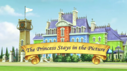 The Princess Stays in the Picture titlecard