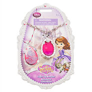 Sofia The First Pink Amulet Light Up Disney Store