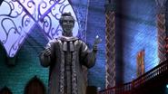 Grimtrix statue