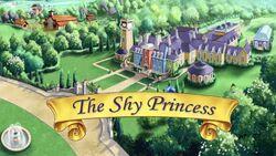 The Shy Princess titlecard