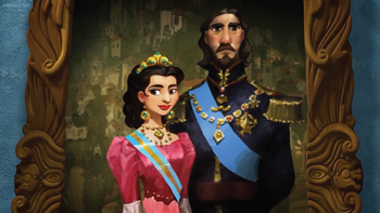 The King and Queen of Avalor