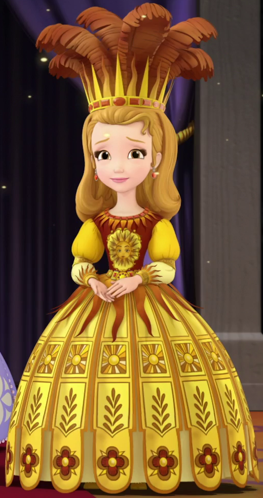 Image - Amber in Enchanted Science Fair gown.png | Sofia the First ...