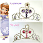 Sofia The First Tiara Purple And Pink Stones