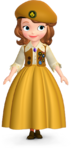 Sofia's Buttercup Scout Outfit