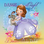 Sofia Dream All Day Poster