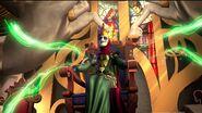 Vor sits on the Enchantia throne