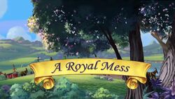 A Royal Mess titlecard