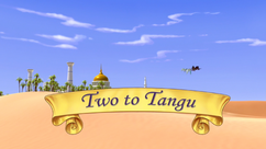 Two to Tangu title card