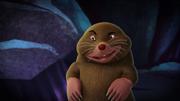 Flinch as a mole