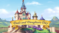 Dads and Daughters Day title card