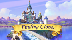 Finding Clover title card