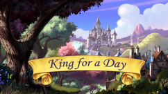 King for a Day title card