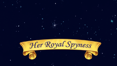 Her Royal Spyness title card