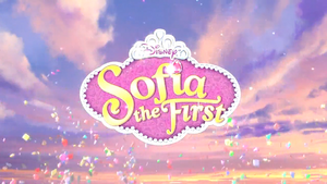 Sofia the First title card (2nd)