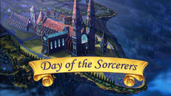 Day of the Sorcerers title card