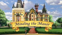Minding the Manor title card