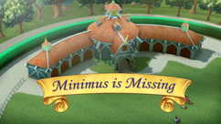 Minimus is Missing title card