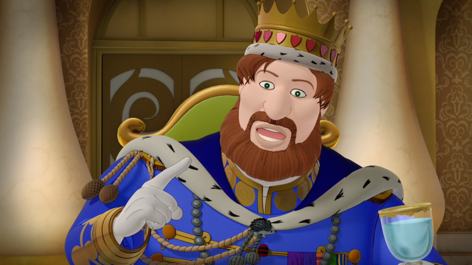 King Magnus Sofia The First Wiki Fandom Powered By Wikia